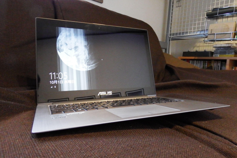 薄いパソコン