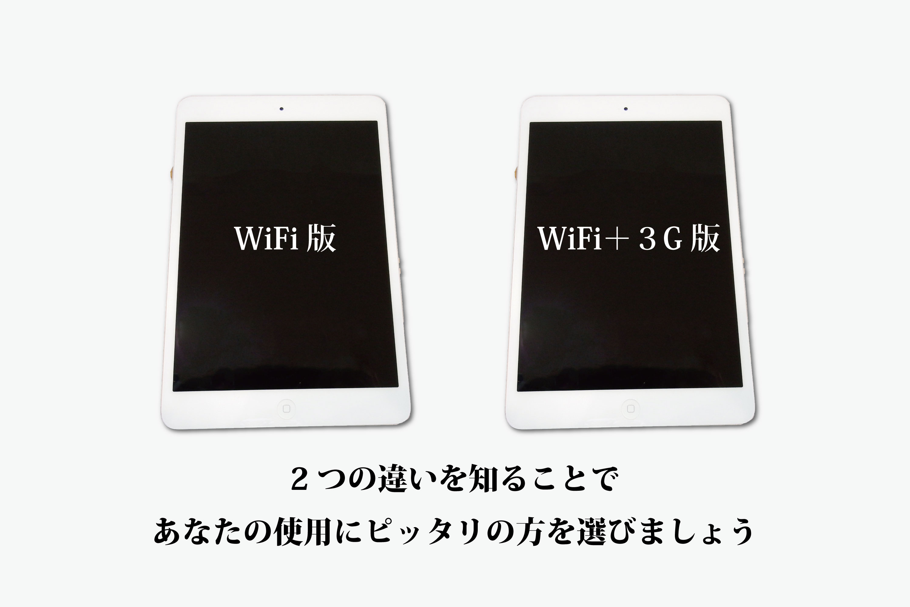 WiFiと3G